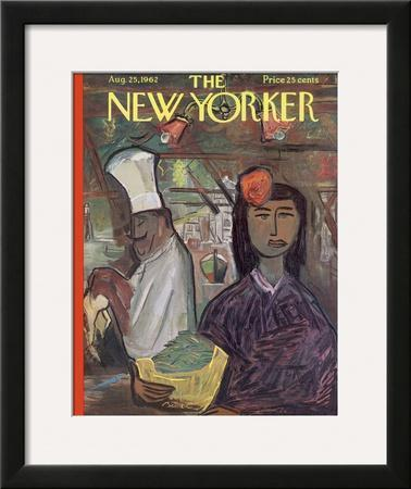 The New Yorker Cover - August 25, 1962 by Ludwig Bemelmans