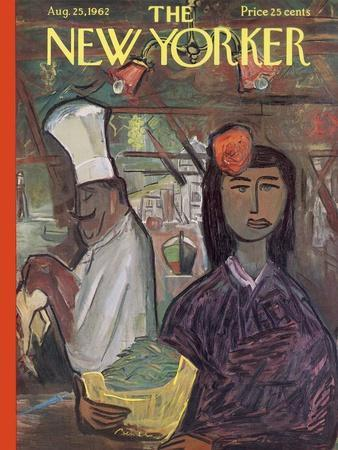 The New Yorker Cover - August 25, 1962