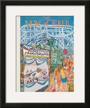 The New Yorker Cover - July 3, 1948 by Ludwig Bemelmans