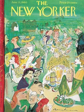 The New Yorker Cover - June 11, 1960