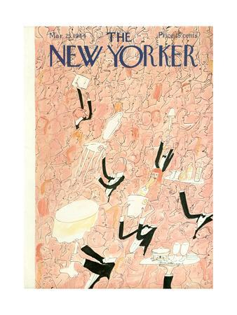 The New Yorker Cover - March 25, 1944