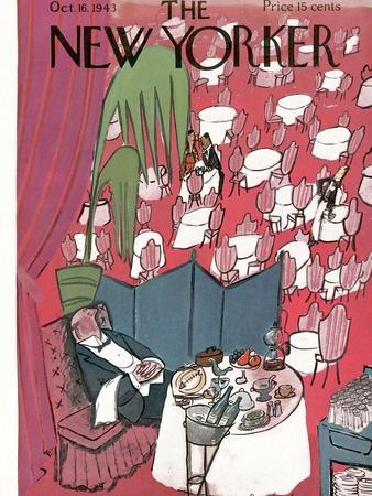 The New Yorker Cover - October 16, 1943