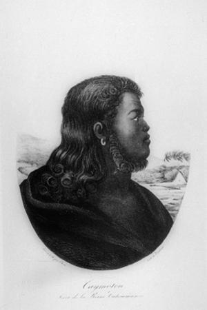 Chief Kalanimoku, 1816 by Ludwig Choris