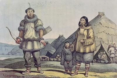Chukchi People and their Homes, from 'Voyage Pittoresque Autour Du Monde', 1822 by Ludwig Choris