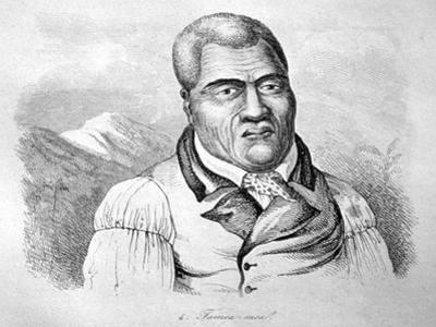 Kamehameha I, C1770-1819 by Ludwig Choris