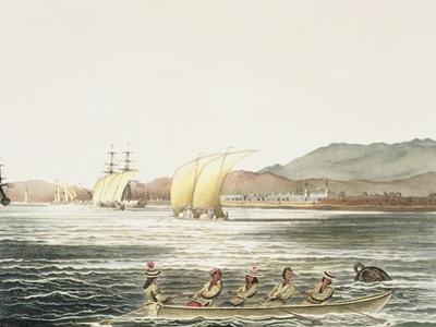 View of the City of Manila, Phillipine Islands by Ludwig Choris