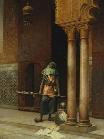 The Harem Guard by Ludwig Deutsch