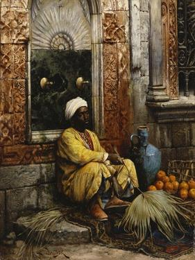 The Orange Seller, 1882 by Ludwig Deutsch