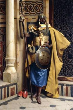 The Palace Guard, 1892 by Ludwig Deutsch