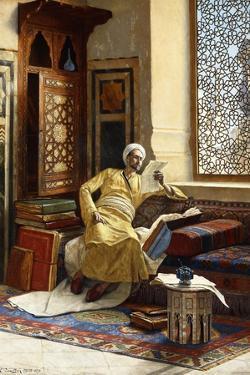 The Scholar, 1895 by Ludwig Deutsch