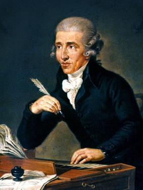 Franz Joseph Haydn by Ludwig Guttenbrunn