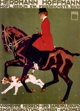 Herrmann Hoffmann by Ludwig Hohlwein