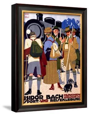 Isidor Bach by Ludwig Hohlwein