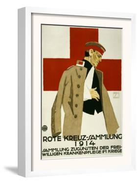 Red Cross Collection Drive, 1914 by Ludwig Hohlwein