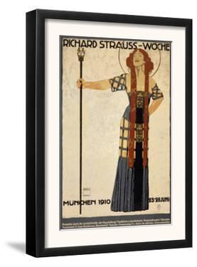 Richard Strauss Music Festival, circa 1910 by Ludwig Hohlwein