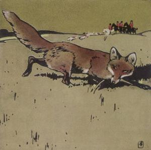 The Fox by Ludwig Hohlwein