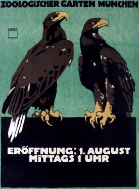 Zoo by Ludwig Hohlwein