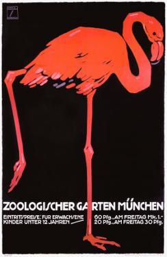 Zoologischer Garten, Munich by Ludwig Hohlwein