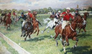 The Polo Game by Ludwig Koch