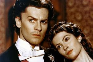 LUDWIG / LE CREPUSCULE DES DIEUX, 1972 directed by LUCHINO VISCONTI Helmut Berger and Sonia Petrova