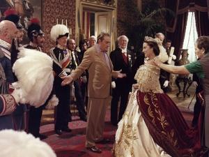 LUDWIG / LE CREPUSCULE DES DIEUX, 1972 directed by LUCHINO VISCONTI On the set, Luchino Visconti (p
