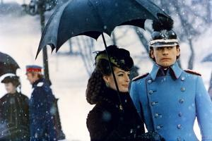 LUDWIG / LE CREPUSCULE DES DIEUX, 1972 directed by LUCHINO VISCONTI Romy Schneider and Helmut Berge