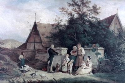 The Fiddler of the Village, 1845