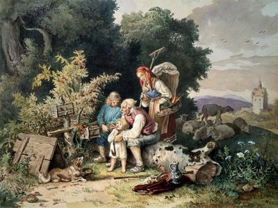 The Shepherd's Family, 1837
