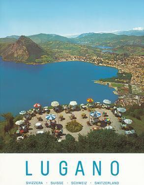 Lugano, Switzerland, c.1957