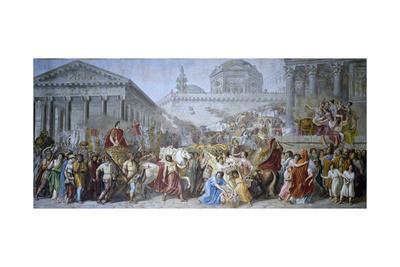 Triumph of Trajan, 1820