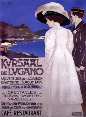 Kursaal de Lugano by Luigi Basorini