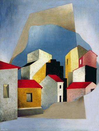 Houses at Lerici, 1932-33