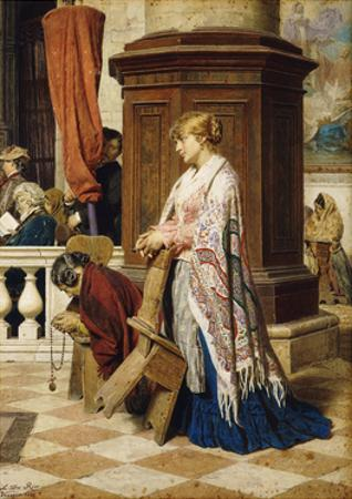 Temptation in the House of God, 1881