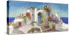 Casa nelle Cicladi by Luigi Florio