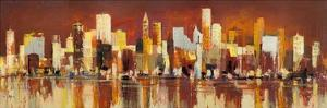 Manhattan al tramonto by Luigi Florio