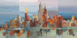 New York astratta by Luigi Florio