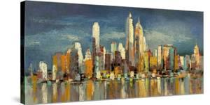 New York, riflessi del mattino by Luigi Florio