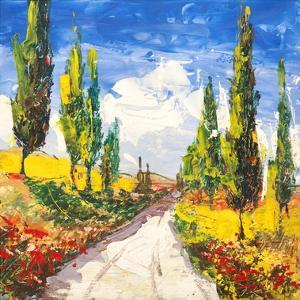 Strada toscana by Luigi Florio