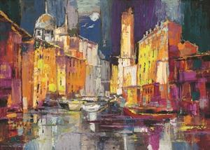 Verso il porto immaginario by Luigi Florio