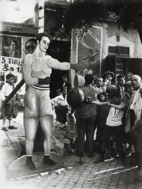 A Punching Ball at a Carnival by Luigi Leoni