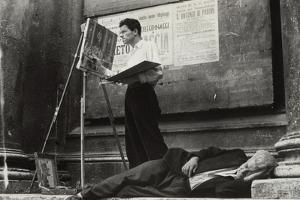 Street Artists, Rome by Luigi Leoni