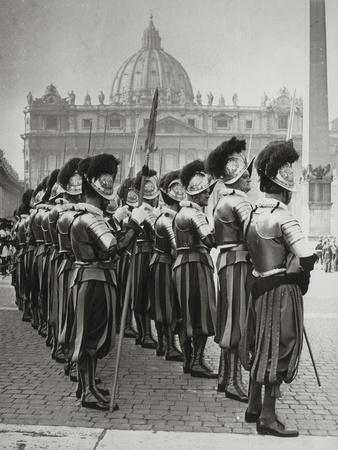 Swiss Guards at San Pietro, Vatican
