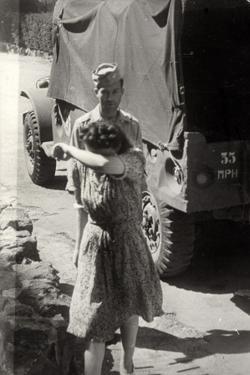 World War II: A Woman Crying by Luigi Leoni
