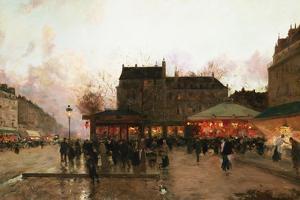 Paris by Night (France) by Luigi Loir
