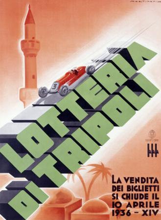 Lotteria di Tripoli by Luigi Martinati