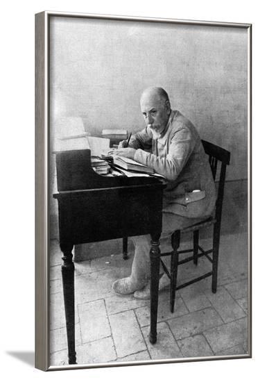 Luigi Pirandello--Framed Photographic Print