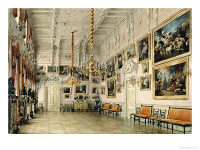 The Dance Hall in at Count Bezborodko's House, St. Petersburg, 1849