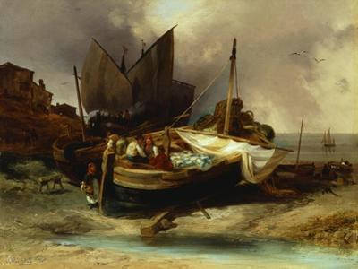 Boats on the Beach, 1840