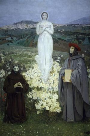 The Apparition of the Virgin to St Francis of Assisi and Bonaventure