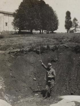 Hole Produced by a 305 in Liga During the First World War by Luigi Verdi
